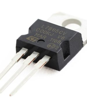 Component7 LM7805, 5 Volt Voltage Regulator -3Pc