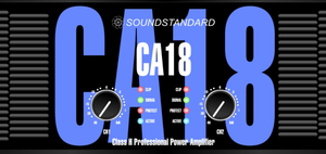 CA 18 Sound Standard Power DJ Amplifier